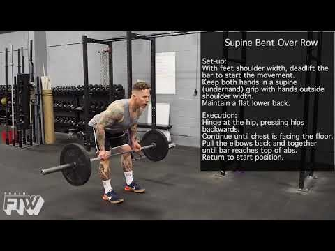 Supine Bent Over Row