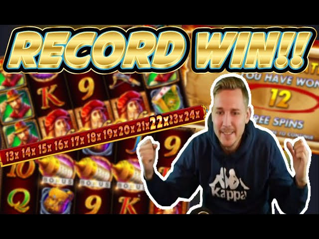 RECORD WIN! Da Vinci's treasure Big win - HUGE WIN on Casino slots from Casinodaddy
