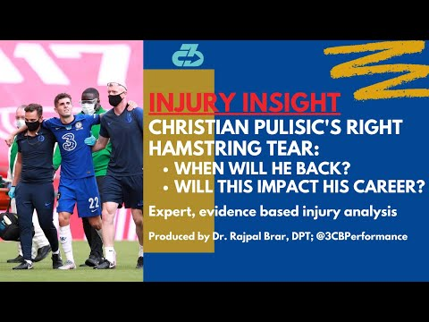 [OC] Explaining Christian Pulisic's hamstring injury, when he'll return, and if there's any career impact