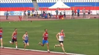 Август 26, 2016 Чебоксары Ветераны 800 м Забеги 11, 12, 13