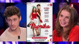 Victoria Abril & Jean-Baptiste Maunier - On n'est pas couché 13 janvier 2018 #ONPC