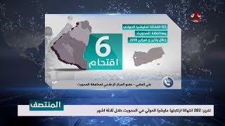 تقرير : 282 انتهاكا ارتكبتها مليشيا الحوثي في المحويت خلال ثلاثة اشهر