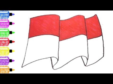 101 Gambar Bendera Merah Putih Untuk Mewarnai Terlihat Keren Gambar Pixabay