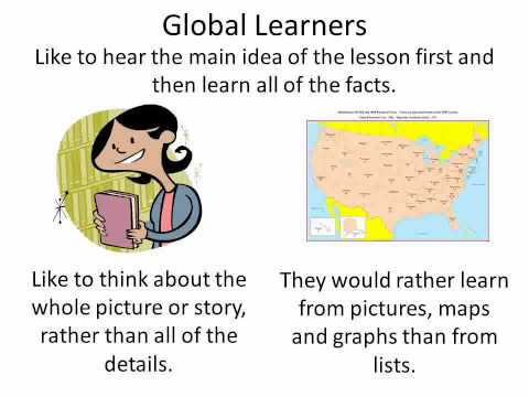 Learning Styles for Kids Analytic and Global Preferences