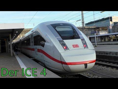 Mitfahrt im neuen ICE 4 von Hannover Hbf nach München Hbf