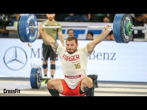 The CrossFit Games - Individual 1RM Snatch