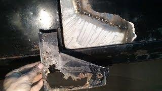 Ремонт сгнившей двери авто(Восстановление сгнившей водительской двери ВОЛГИ ГАЗ 24 Заработай на youtube, подключи партнерку http://join.air.io/G900..., 2014-01-11T09:17:11.000Z)