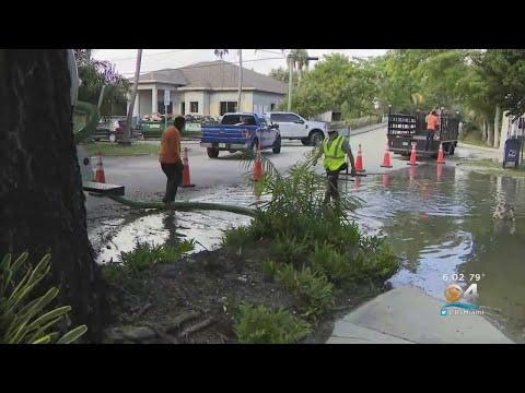 Florida News - Sewage Main Break Stinks Up Fort Lauderdale