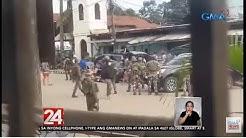 24 Oras: Apat na sundalo, nasawi matapos pagbabarilin ng mga pulis sa Jolo, Sulu