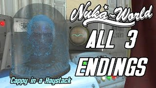 Fallout 4 Nuka World - ALL ENDINGS AND REWARDS - Cappy in a Haystack Quest