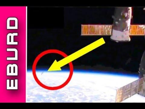 ISS Livestream - Mysteriöses Ufo im Fenster - Nasa vertuscht und kappt Übertragung