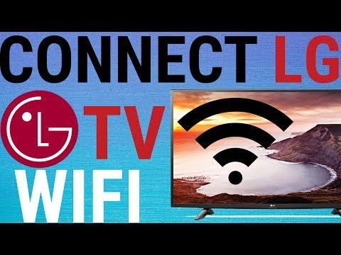 📺 LG Smart TV - How To Connect To WIFI For Installing Apps
