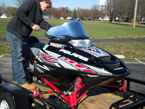 2005 Polaris 600 XC/SP snowmobile for sale
