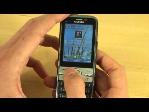 Nokia C5 Test Bedienung
