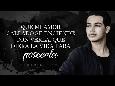 (LETRA) ¨ESTA COBARDÍA¨ - Jofrán Mendoza (Lyric Video)