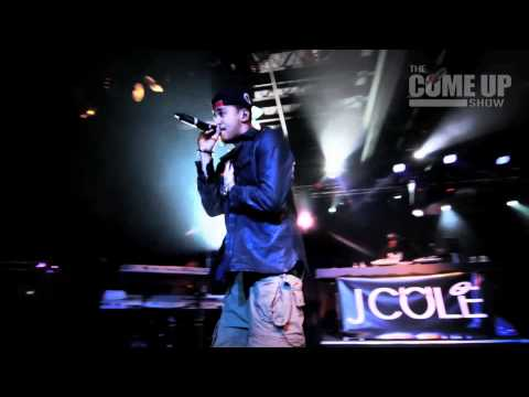 J.Cole performs