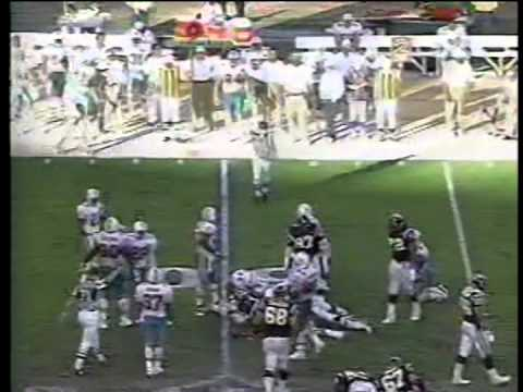 Dolphins vs. Chargers, AFC playoffs,  (2nd half), 1995