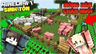 Minecraft Sinh TỒn TẬp 2 Jennie LÀm NÔng DÂn TrỒng TrỌt VÀ ChĂn NuÔi Mk Gaming
