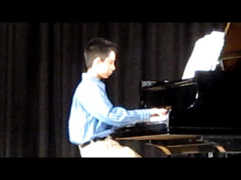 "alex playing  ""River Flows in you"" by  Yiruma"