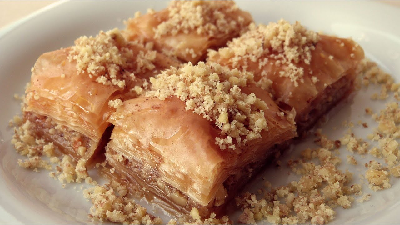 baklava original recipe