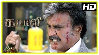 Kabali Tamil Movie | Climax Scene | Rajini kills Winston Chao | Kalaiyarasan | Dhansika