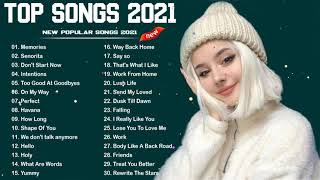 Pop Hits 2021 - Ed Sheeran, Adele, Shawn Mendes, Maroon 5, Taylor Swift, Sam Smith, Dua Lipa