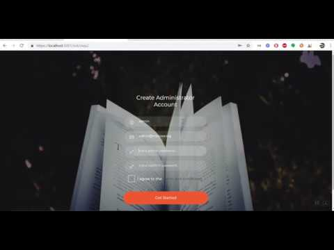 mixcore - How to setup mixcore cms for the first time