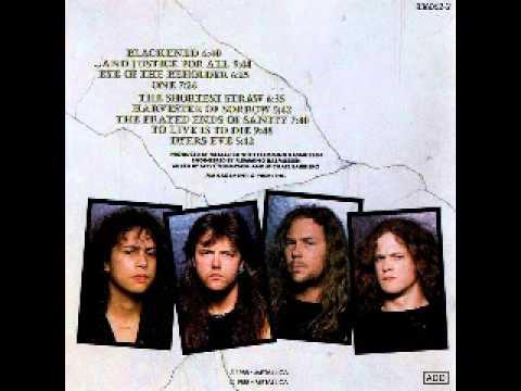 Metallica - Blackened Drum & Bass