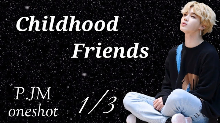 jimin oneshot childhood friends 13