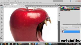 как сделать яблоко в фотошопе БЕСПЛАТНО