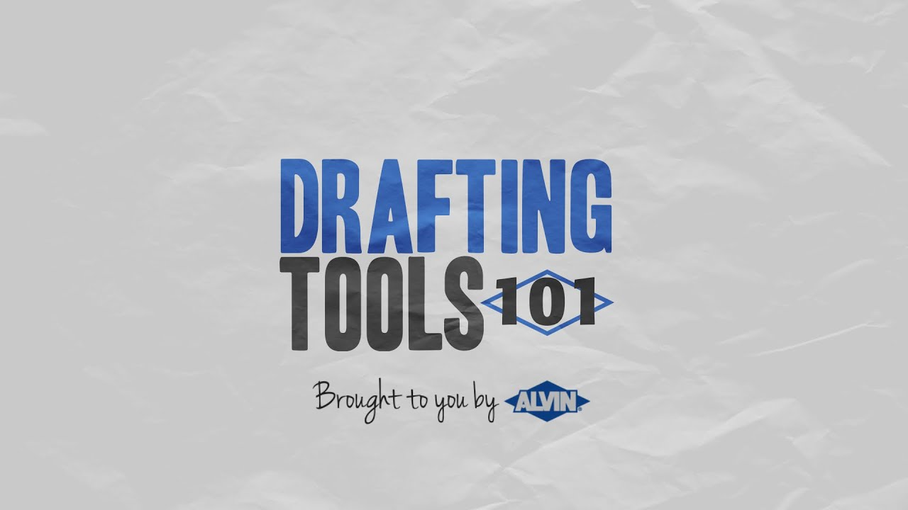 Drafting Tools 101 Learn How to Use Drafting and Drawing Tools - YouTube