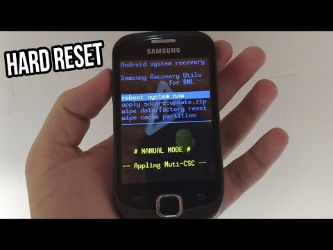 Como Formatar Samsung Galaxy Fit GT-S5670,S5670L E S5670B - Desbloquear