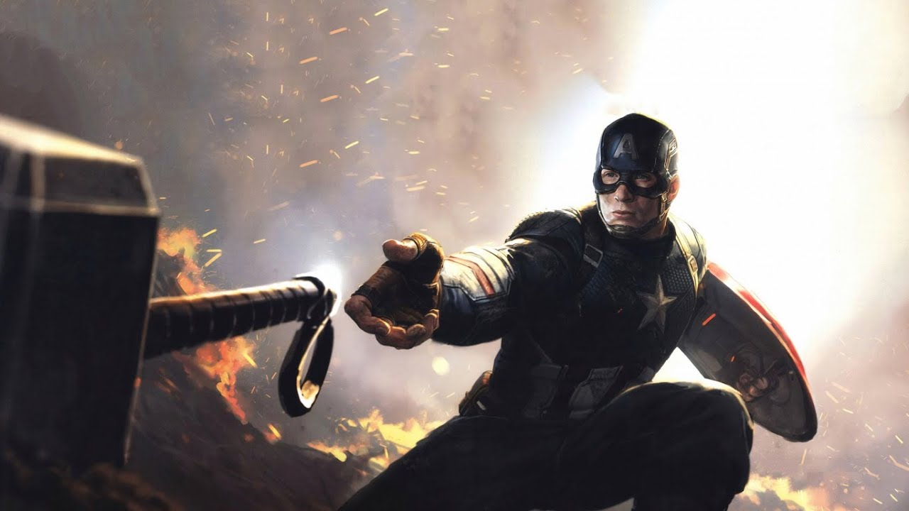 Captain America Uses Mjolnir Better Than Thor