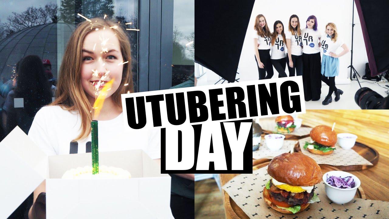 VLOG | Utubering day, burgery a Česká Miss!