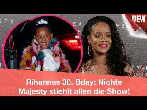 Rihannas 30. Bday: Nichte Majesty stiehlt allen die Show! | CELEBRITIES und GOSSIP