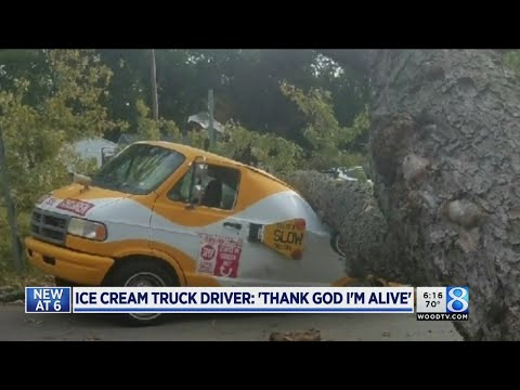 Ice cream truck driver: 'Thank God I'm alive'