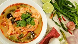 Thai Shrimp Soup or Tom Yum Goong ตมยำกง