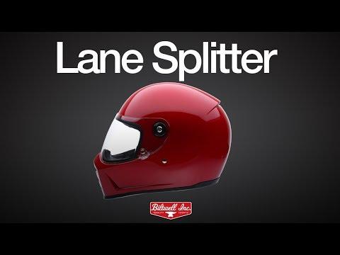 81cc4181 Biltwell Lane Splitter Helmet Full Face Flat Red :: Motokickstart - Parts  for Harley & Biltwell Helmets