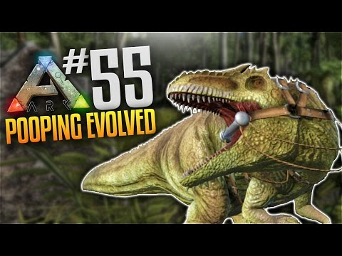 ARK Survival Evolved Tribes Gameplay - S3 Ep 55 - Giganotosaurus Taming