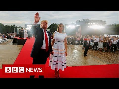 Trump leads Salute