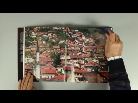 """Sarajevo"" - A photo book with photos by Art Zamur Dragoljub Zamurovic"