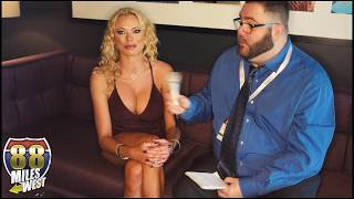 Interview with Briana Banks at 2017 AEE Expo