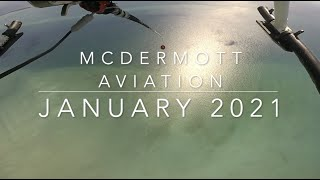 McDermott Aviation January 2021. Bell 214, Aerial Fire Fighting, Helicopter Lifting
