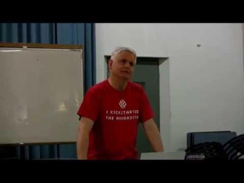 Trevor Dickinson at Adelaide Amiga & Retro-Computing Event