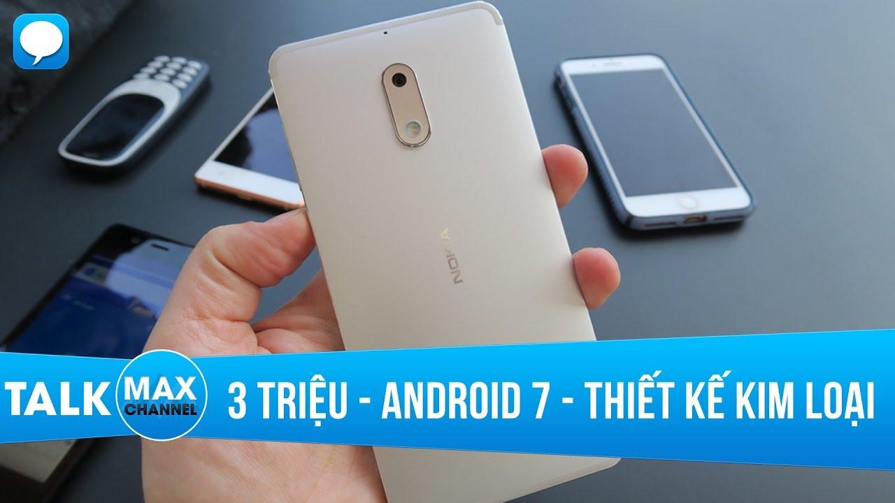 3 triệu mua những smartphone nào Android 7, thiết kế kim loại?