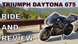 Triumph Daytona 675 - A Rider's Review