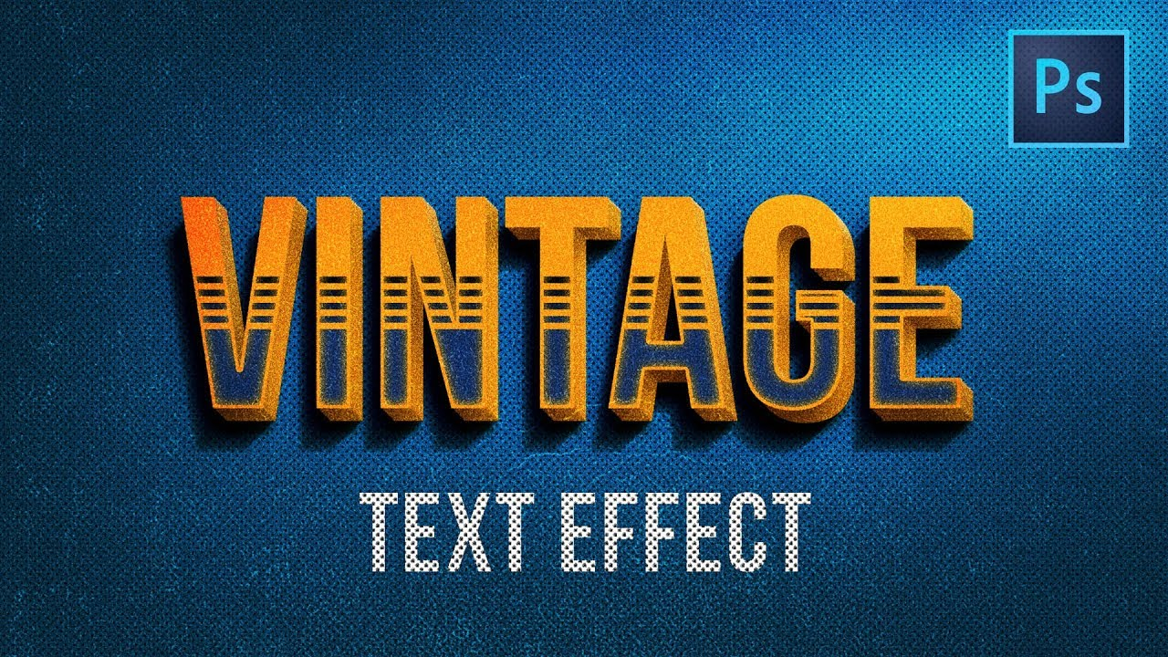 Photoshop 3d text effects tutorials images any tutorial examples photoshop tutorials vintage 3d text effects adobe photoshop photoshop tutorials vintage 3d text effects adobe photoshop baditri Image collections