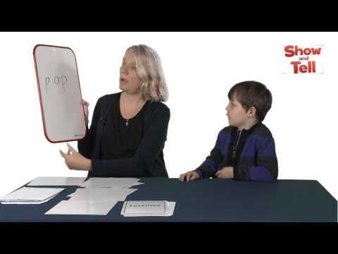 Kindergarten phonics activities for reading: CVC words
