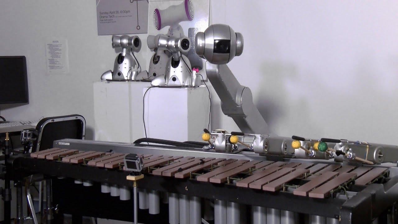 Shimon – четверорукий робот-музыкант