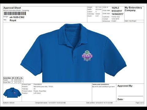 Approval Sheet Customization